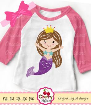 BYSVG25 Princess Mermaid