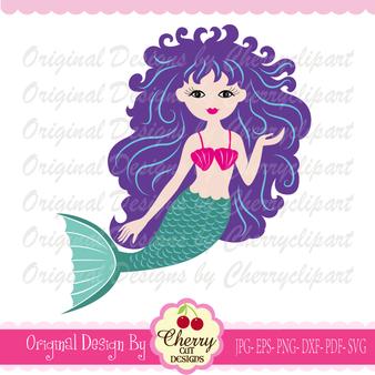 BYSVG28 Mermaid