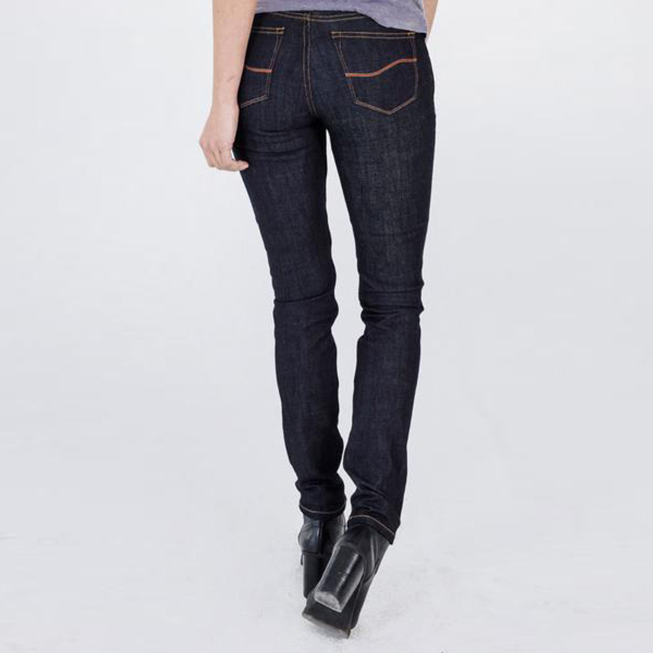 reputable site 2da43 f888b Women's Indigo Riding Jeans - Kevlar Lined