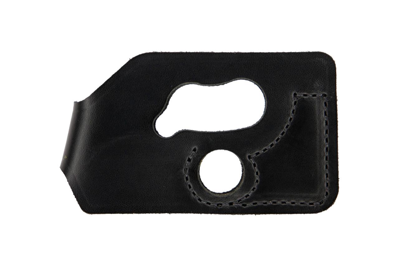 DeSantis 110BJT7Z0 Pocket Shot Pocket Wallet Holster Black LCP CTC LG Leather