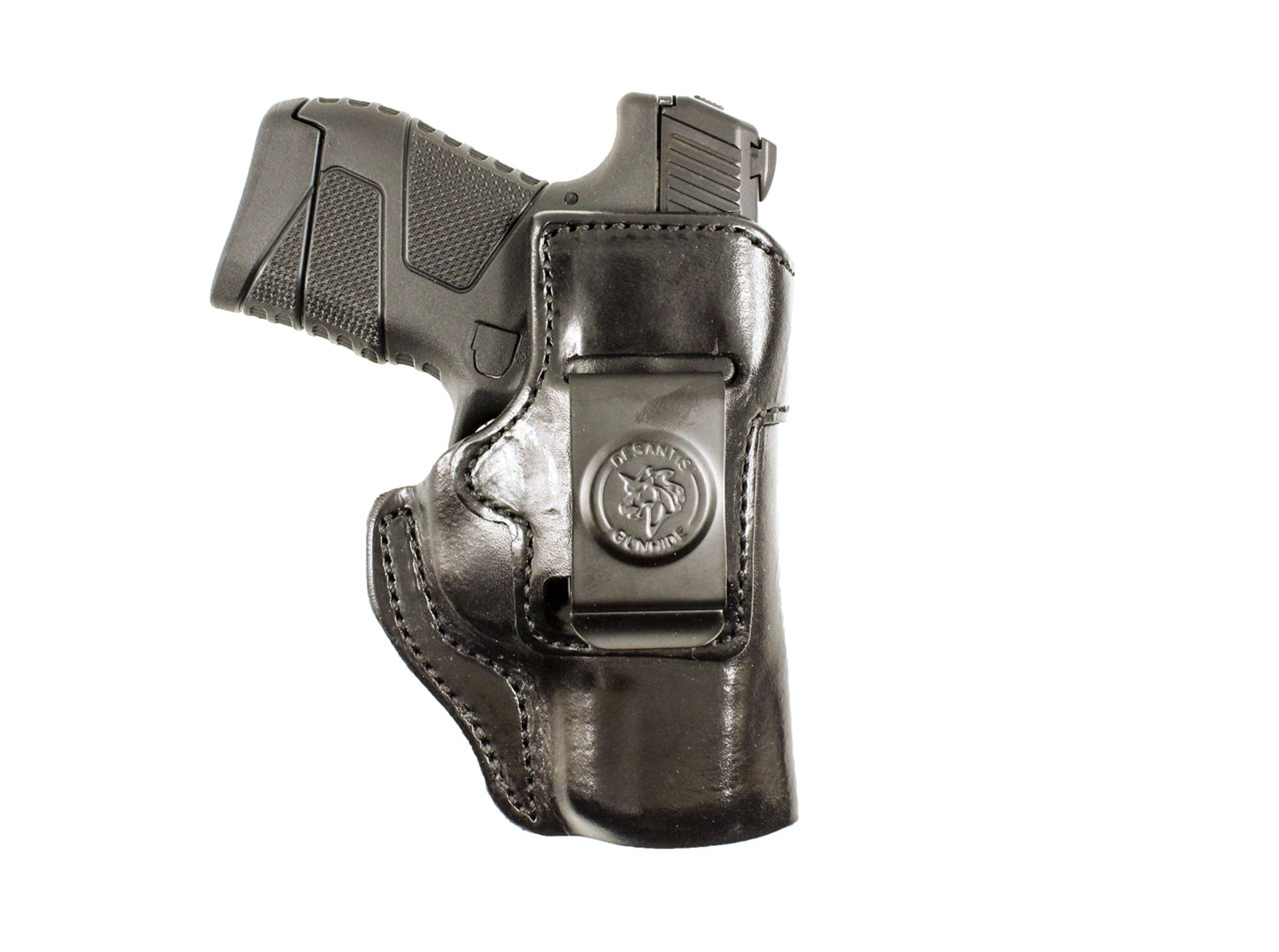 Molded leather iwb holster