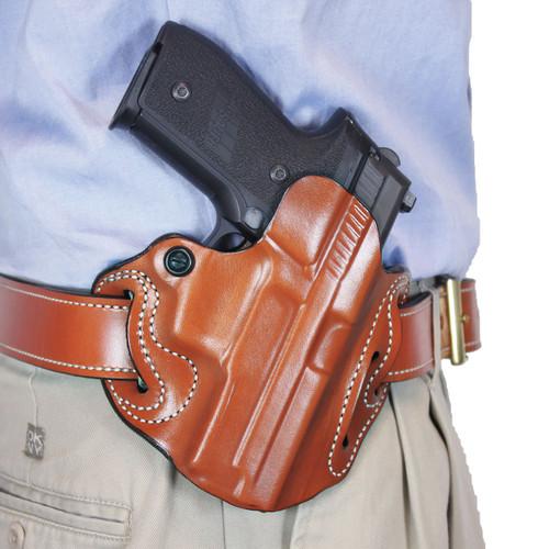 Fits FNX Desantis Gunhide Speed Scabbard Right Hand Black Leather Belt Holster