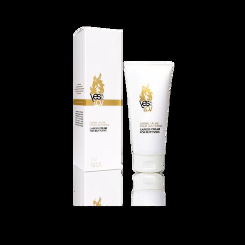 Deze multifunctionele verzorgingscrème verzacht pas onthaarde huid, elimineert ruwe plekjes en kalmeert na een portie billenkoek.