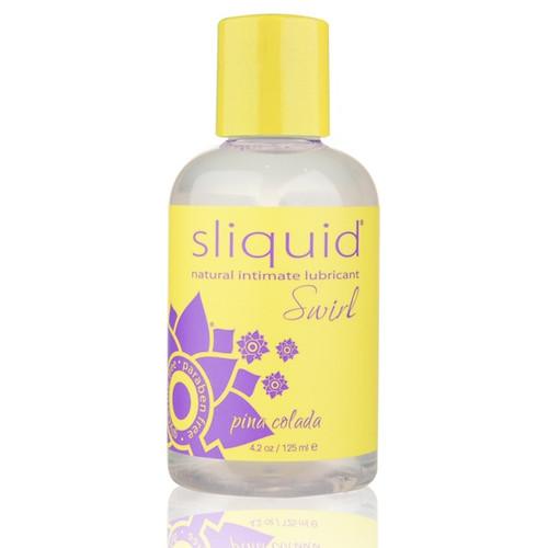 Sliquid Swirl watergebaseerd en lekker fris en eetbaar glijmiddel. Pina Colada smaak.