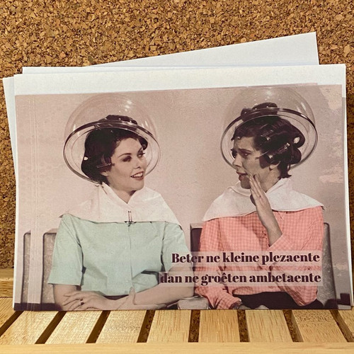 Stoute postkaart.