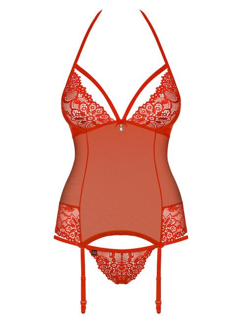 Sexy rood corset