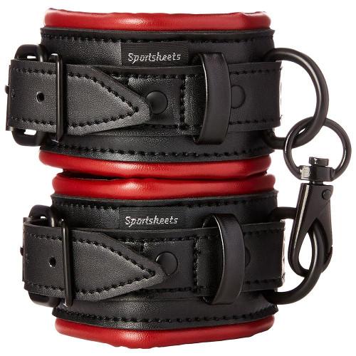 Saffron vegan leather cuffs