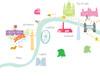 London Marathon Route Map Art Print (Personalisation included)