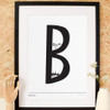B is for Battersea Art Print (Various Sizes)