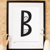 B is for Barnes Art Print (Various Sizes)