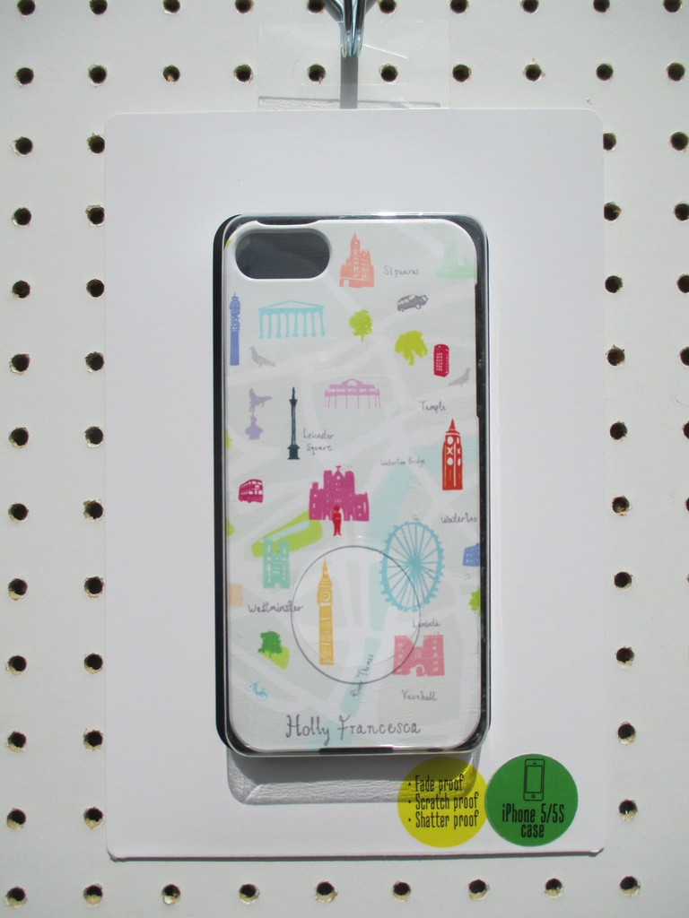 Map of London iPhone case