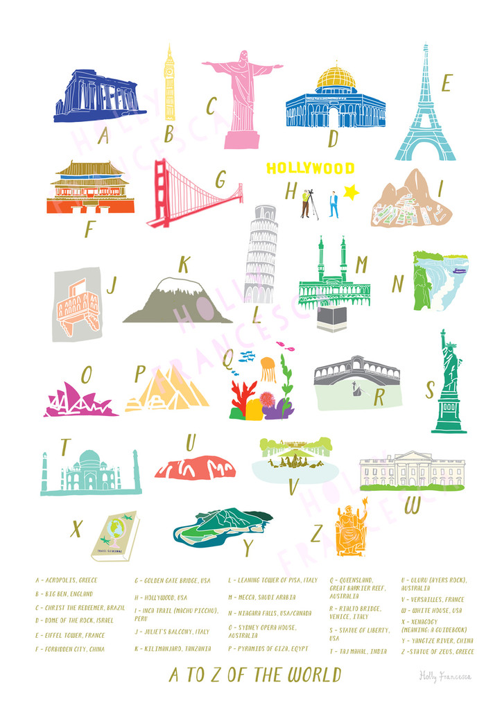 A to Z of the World