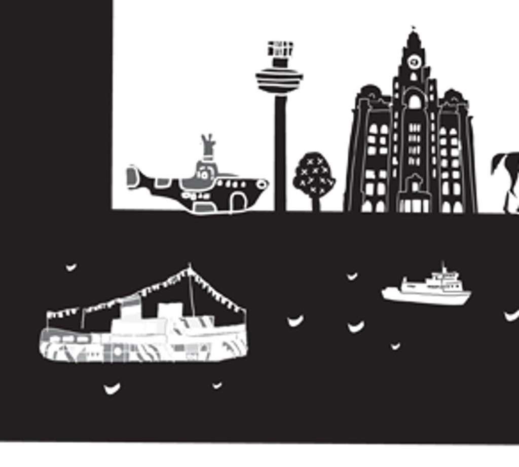 L is for Liverpool Art Print (Various Sizes)