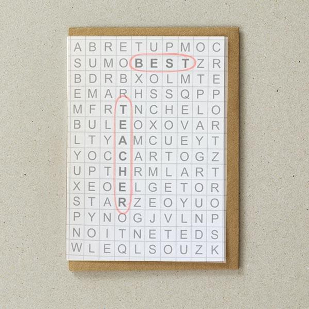 Grid Cards - Best Teacher