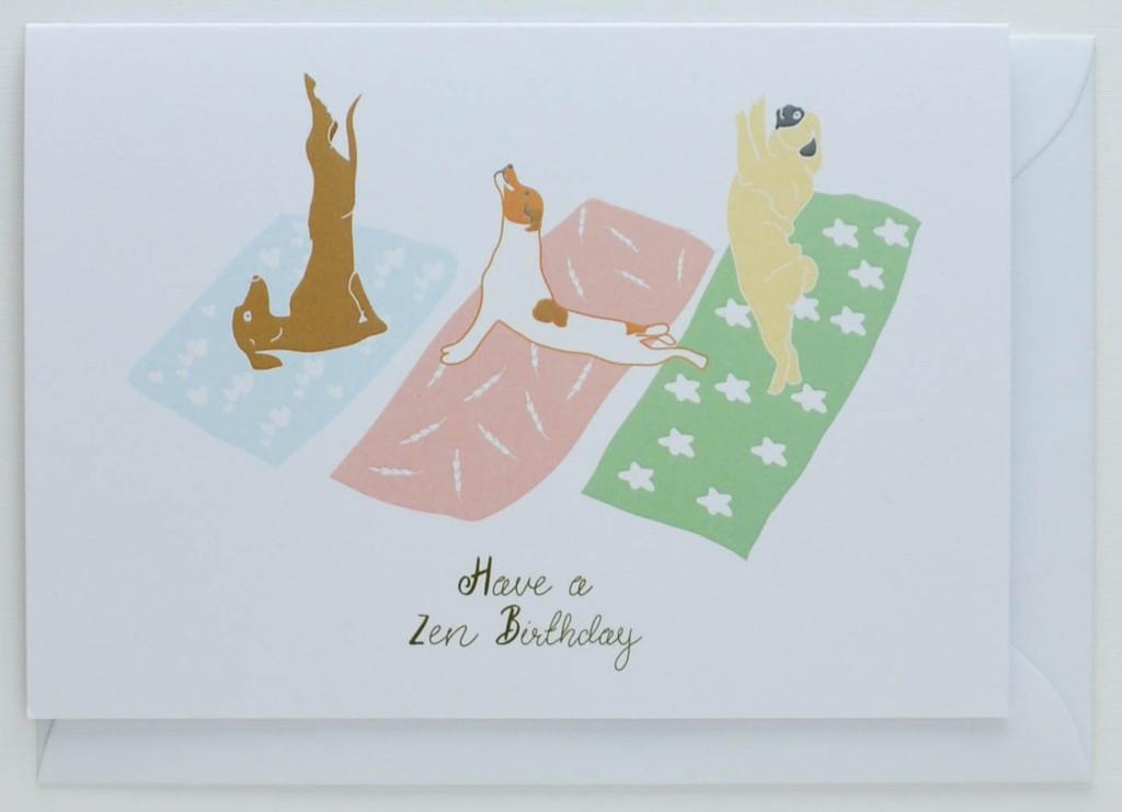 Have a Zen Birthday Card