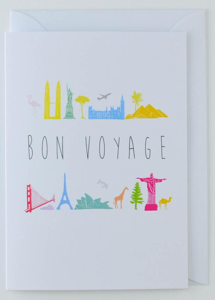 Bon Voyage - Greeting Card