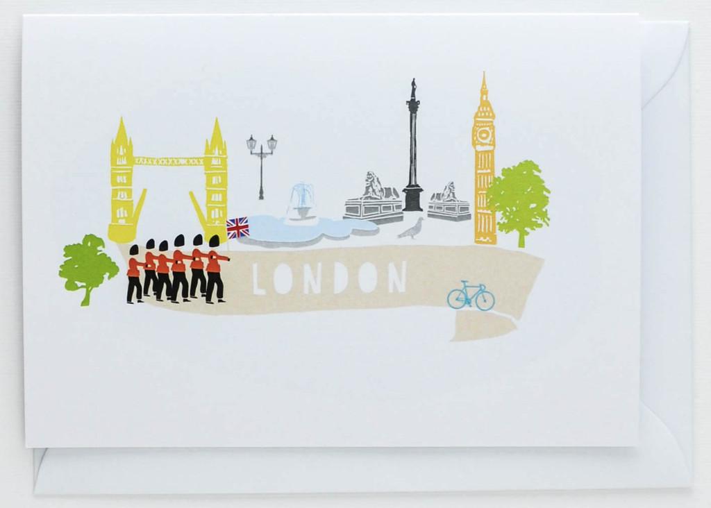 London Scene - Greeting Card