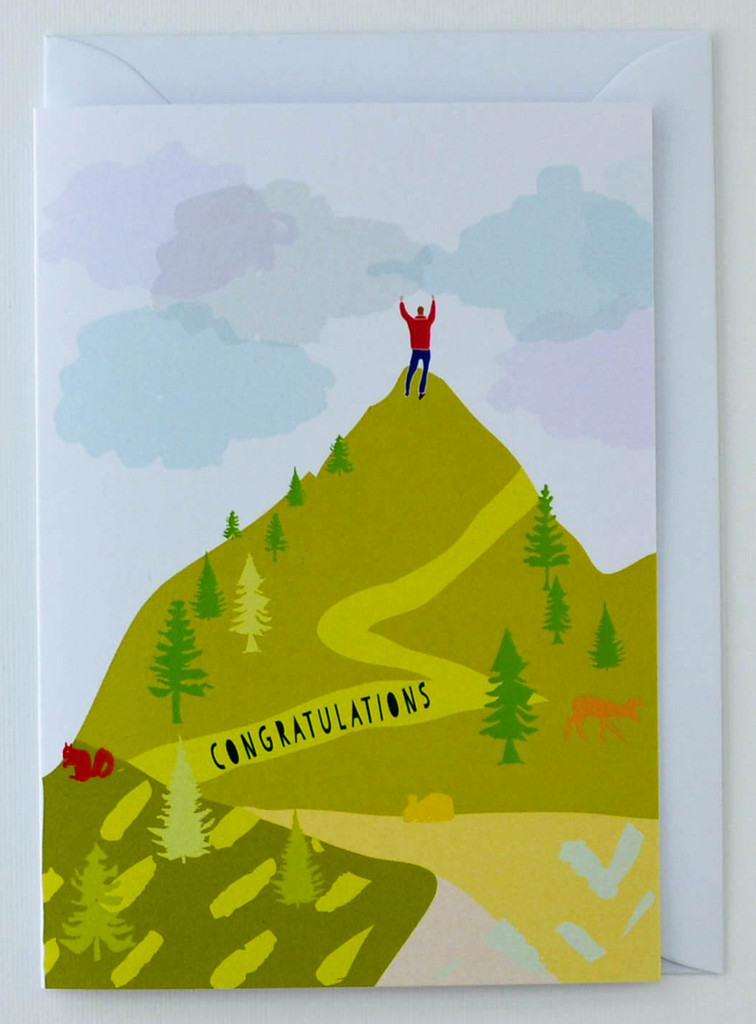 Congratulations you did it - Greeting Card