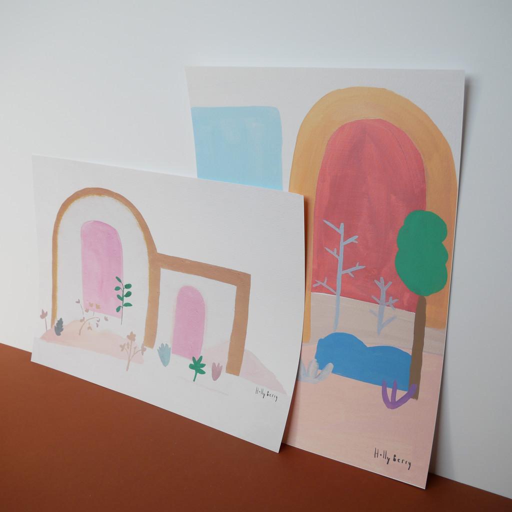 Autumn Woods Print unframed prints