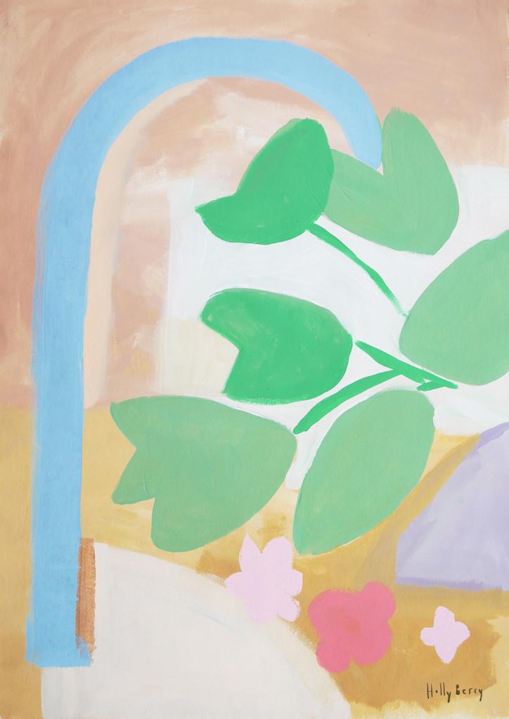 Flowing Leaves Unframed Print
