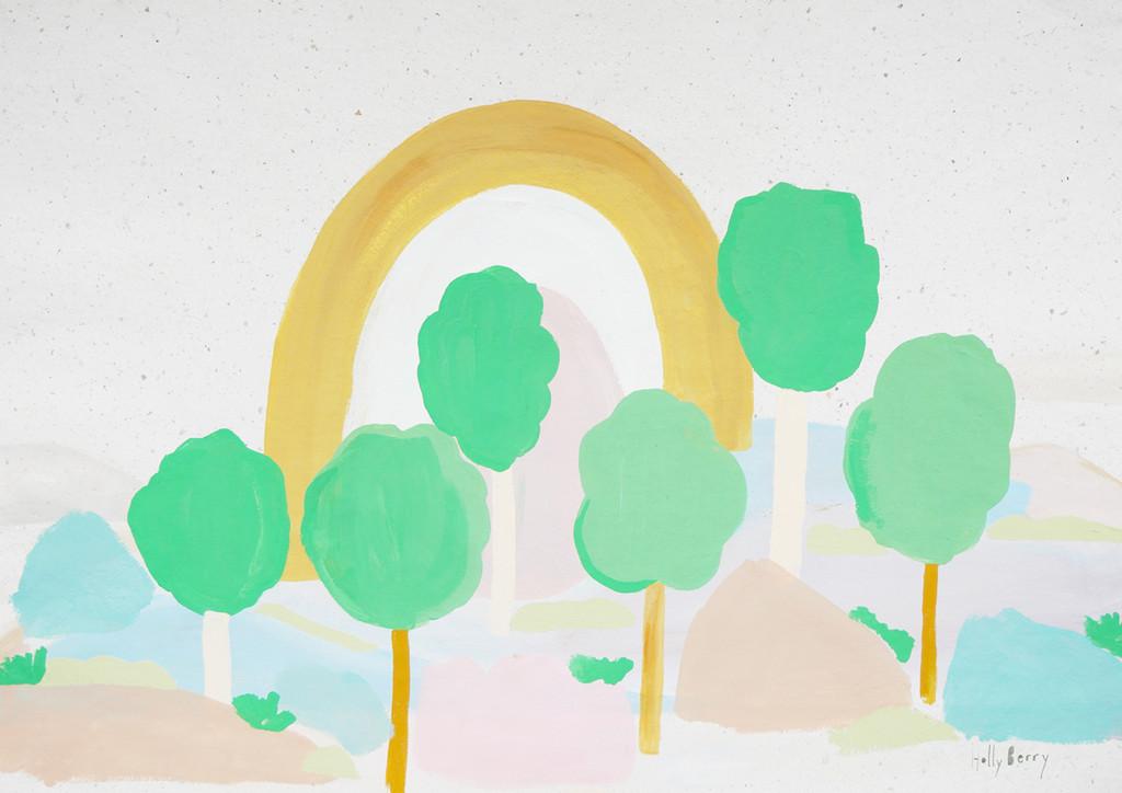 Trees to Trees Print