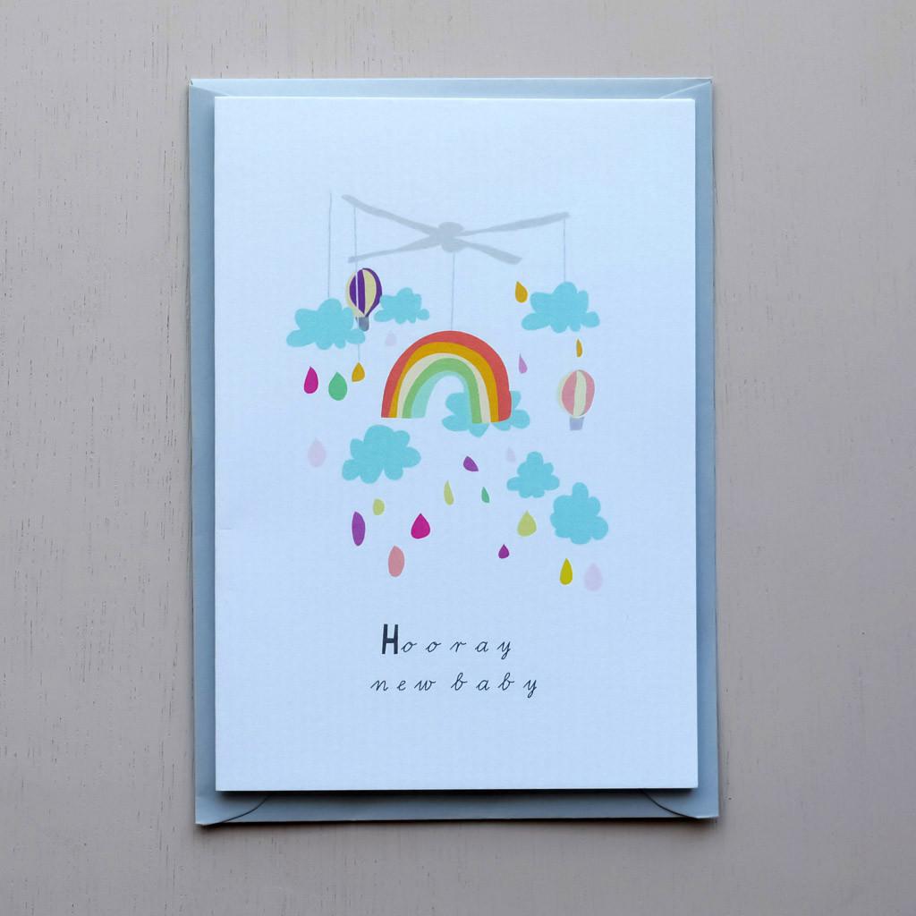 Hooray New Baby Card