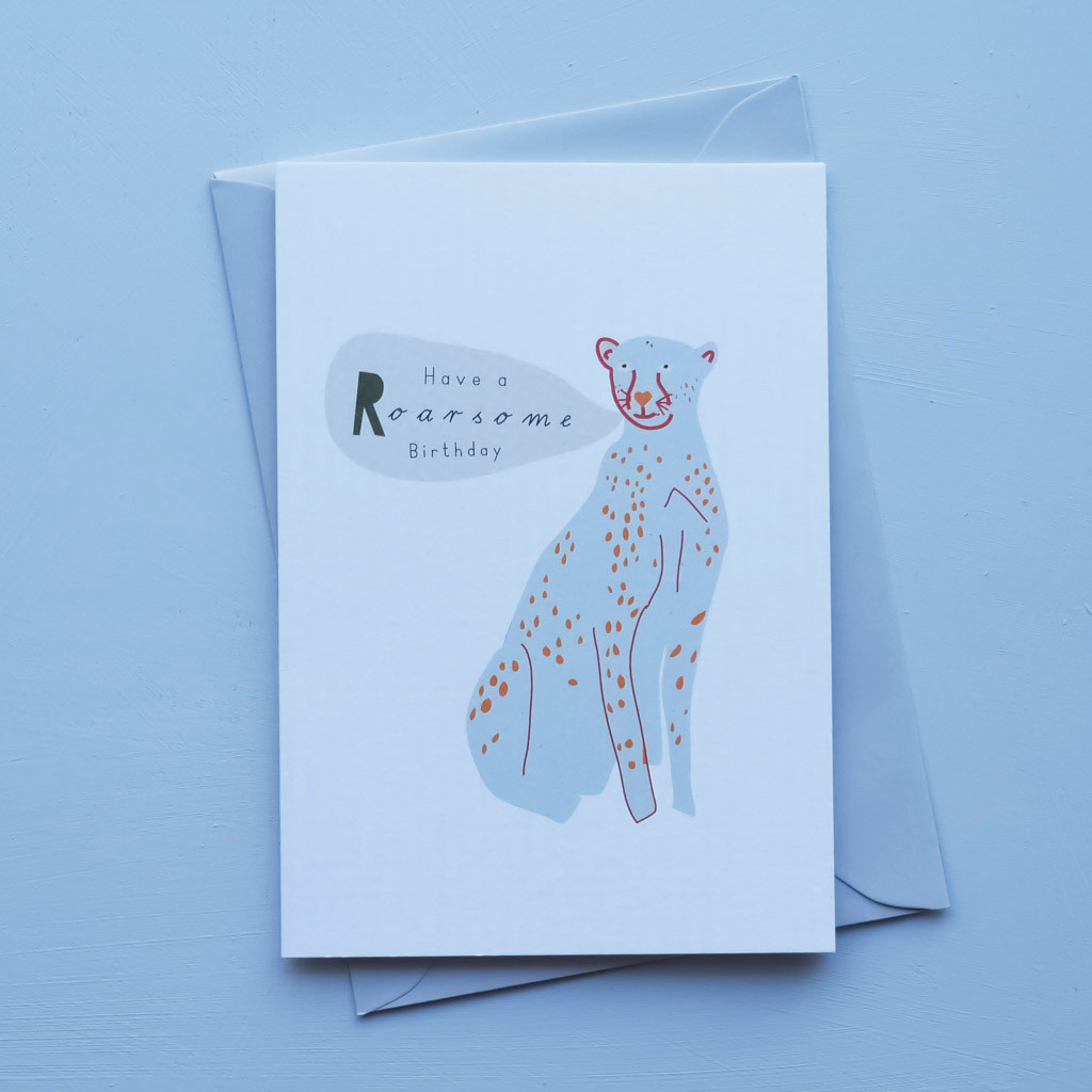 Have a Roarsome Birthday Card