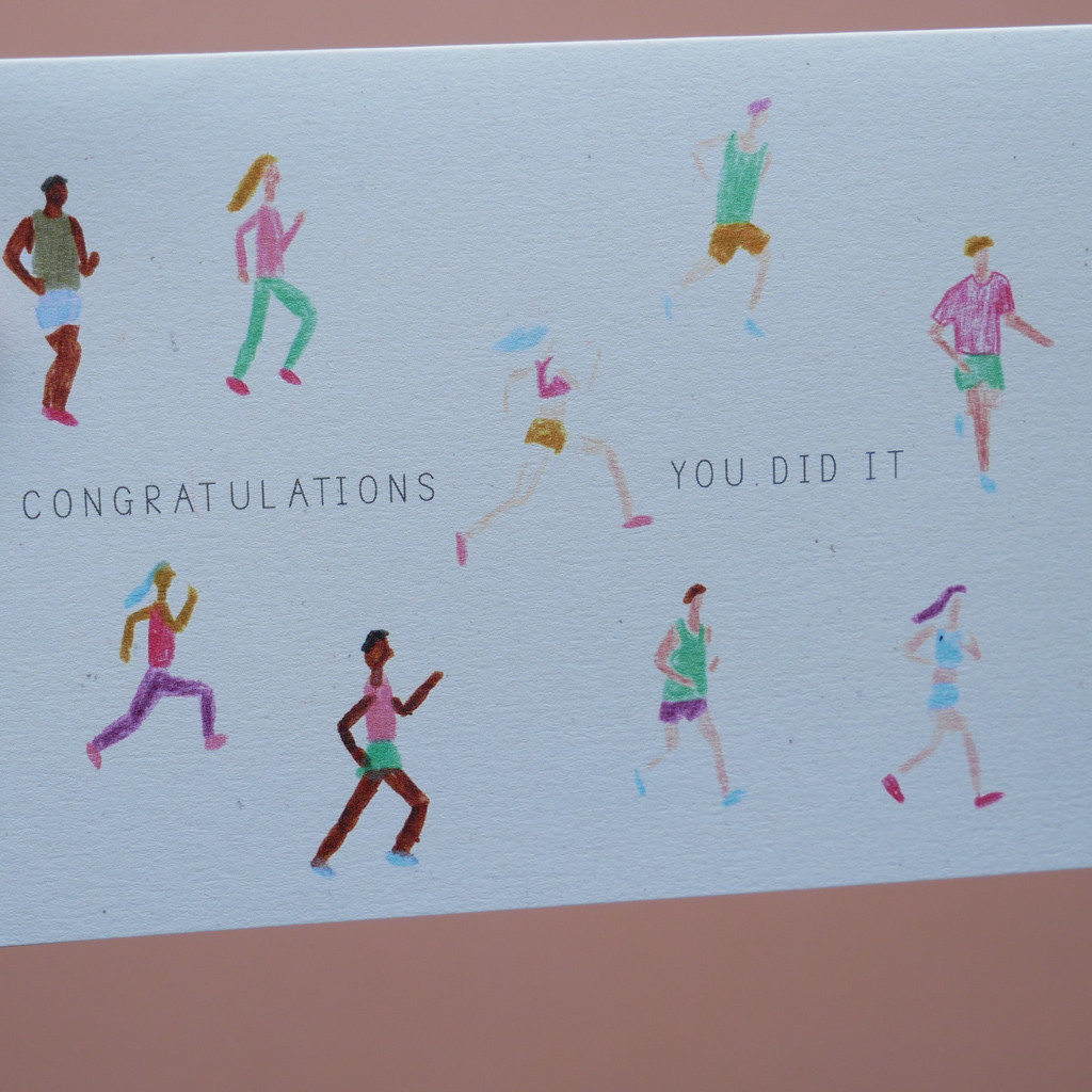 Congratulations You Did It, Runner Card