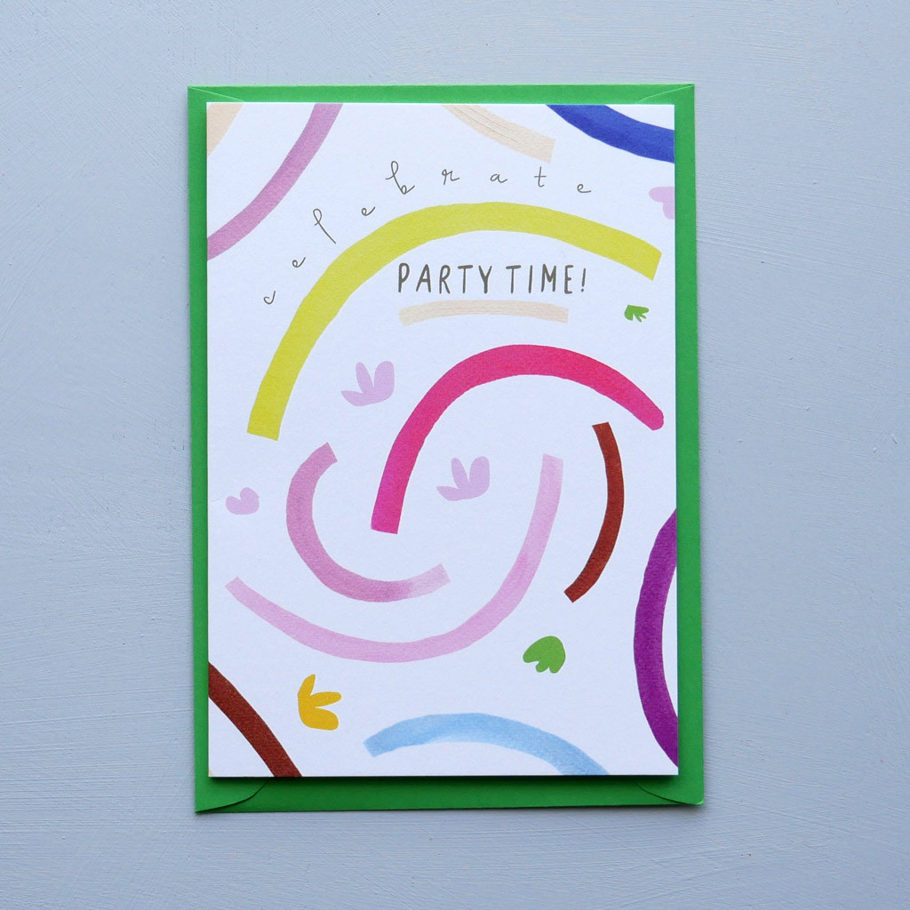 Celebrate Party Time! Card