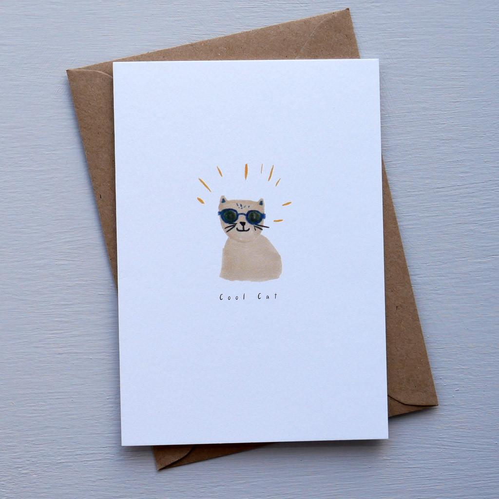 Cool cat card