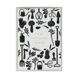 Letterpress and foil 'To My Horticultural Husband' Greeting Card