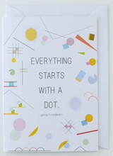 Wassily Kandinsky Artist's Quote - Greeting Card