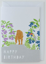 King of the Jungle - Birthday Card