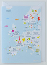 Happy Birthday Europe - Birthday Card
