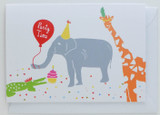 Party Elephant - Birthday Card