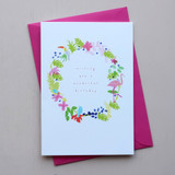 Wishing you a Wonderful Birthday Card