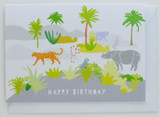 Happy Birthday in the Jungle Card