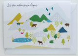 Let the adventure begin - Greeting Card