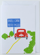 You've Passed your Driving Test - Greeting Card