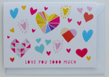 Love you soooo much - Greeting Card