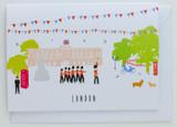 London Buckingham Palace - Greeting Card