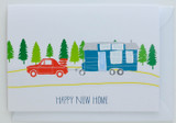 Happy New Home (Trailer) - Greeting Card