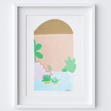 Marrakesh at Dusk Framed Print