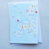 European Languages - Birthday Card