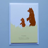 Happy Father's Day Bears Card