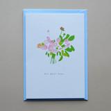 Get Well Soon Flowers Card