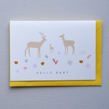 Hello Baby New Born Card