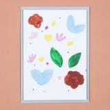 Nordic Flowers Card