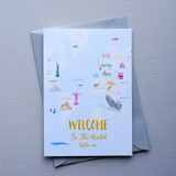 Welcome to the World New Born Card