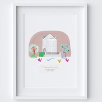 Building Portrait (Home, Wedding Venue or Favourite building)